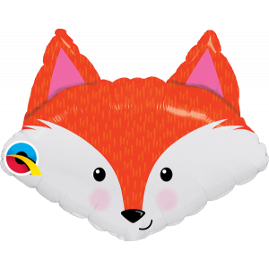 14 INCH  FOIL FABULOUS FOX