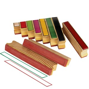 TFC-STAMP COLOURED RODS 10P