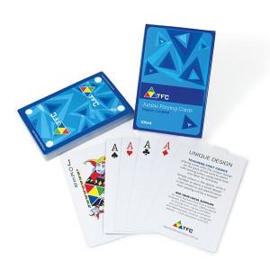 TFC-PLAYING CARDS JUMBO SIZE 54P