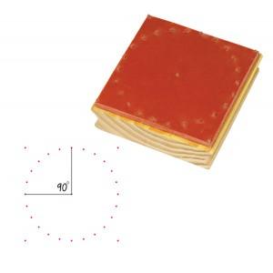 TFC-STAMP GEOBOARD CIRCULAR 1P