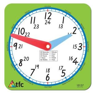 TFC-CLOCK 24HR TEACHER 1P