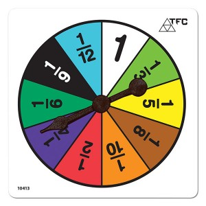 TFC-SPINNER FRACTIONS COLOUR 1P