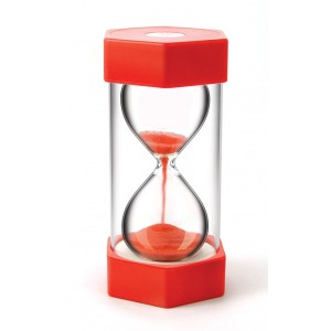 TFC-SAND TIMER GIANT 30 SECOND - RED 1P