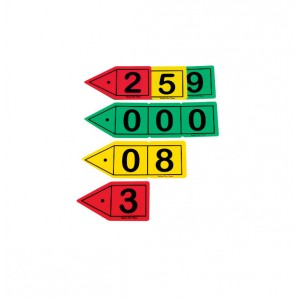 TFC-PLACE VALUE ARROWS DECIMAL 30P