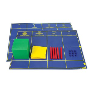TFC-BASE 10 PLACE VALUE COMBO MAT 1P