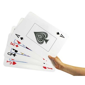 TFC-PLAYING CARDS GIANT SIZE 54P