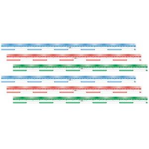 TFC-RULER METRE TRANSPARENT 6P