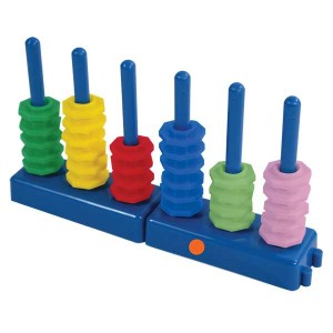 TFC-PLACE VALUE ABACUS SET DECIMAL 56P