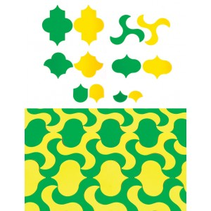 TFC-TESSELLATION SHAPES ROUNDED 60P
