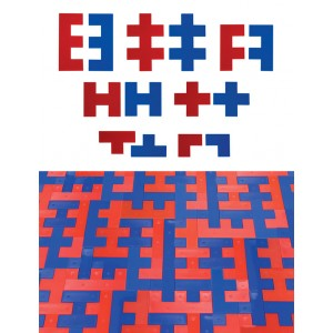 TFC-TESSELLATION SHAPES ABSTRACT 70P