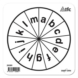 TFC-SWAP + SPIN INSERT A-M LOWERCASE 1P