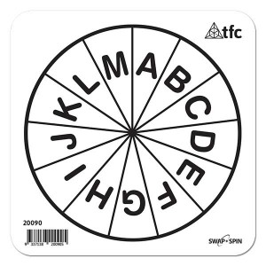 TFC-SWAP + SPIN INSERT A-M UPPERCASE 1P