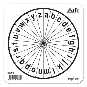 TFC-SWAP + SPIN INSERT A-Z LOWERCASE 1P