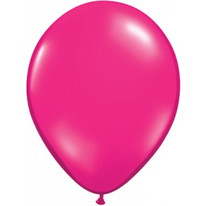 11 INCH LATEX JEWEL MAGENTA 100CTP
