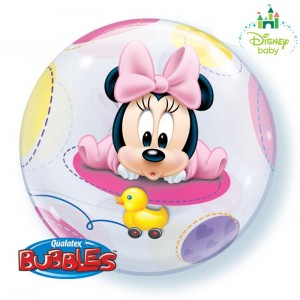 22 INCH SINGLE BUBBLE BABY MINNIE 1CTP