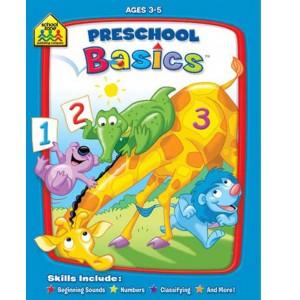 WORKBOOKS-PRESCHOOL BASICS
