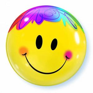 22 INCH SINGLE BUBBLE BR SMILE FAC 1CTP