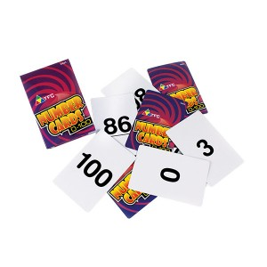 TFC-NUMBER CARDS 0-100 101P
