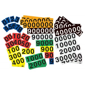 TFC-NUMBER BUILDER CARDS 70P