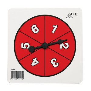 TFC-SPINNER NUMBER 1-6 1P
