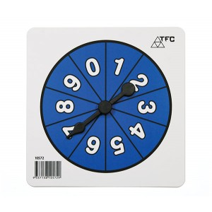 TFC-SPINNER NUMBER 0-9 1P