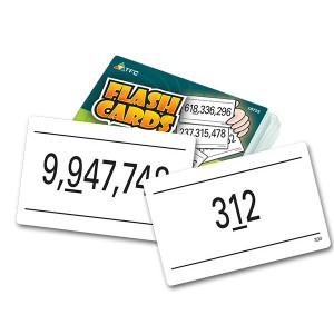 TFC-FLASH CARDS - ROUNDING 55P