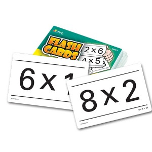 TFC-FLASH CARDS - MULTIPLICATION 55P
