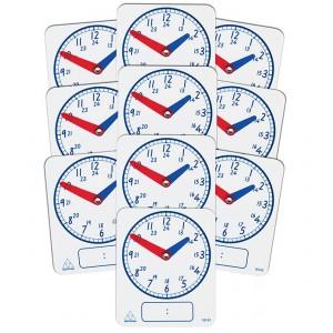 TFC-CLOCK DIGITAL/ANALOGUE 24 HOUR 10P