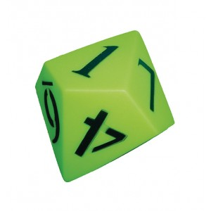 TFC-DICE 120MM 10 FACE NUMBER PVC 1P