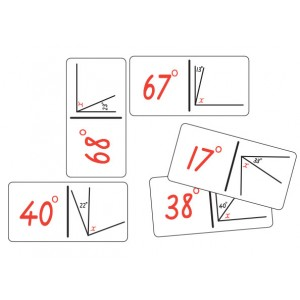 TFC-DOMINOES ANGLE CALCULATION SET A 28P