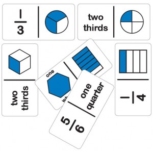 TFC-DOMINOES FRACTION SIMPLE SET A 28P