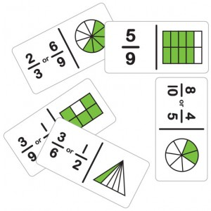 TFC-DOMINOES FRACTION SIMPLE SET B 28P