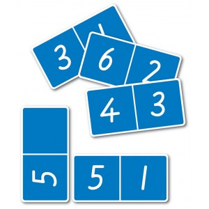 TFC-DOMINOES 6 X 6 NUMBERS 28P