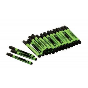 TFC-WHITEBOARD MARKERS BLACK 30P