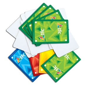 TFC-PLAYING CARDS BLANK 54P
