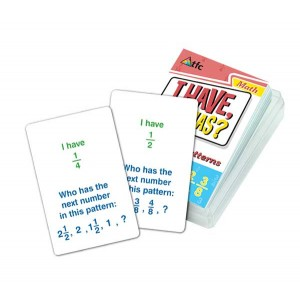 TFC-I HAVE WHO HAS?-COUNTING PATTERN-FRACTIONS 36P