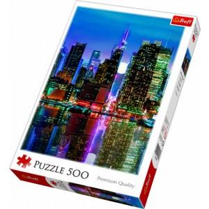 TREFL-500 PC PUZZLE FULL MOON OVER MANHATTAN