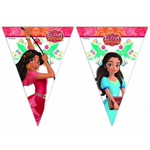 ELENA OF AVALOR TRIANGLE FLAG BANNER 1CT