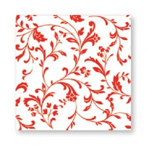 NAPKINS 3 PLY 33X33CM EDAY DESIGN ARABESQ 20CT