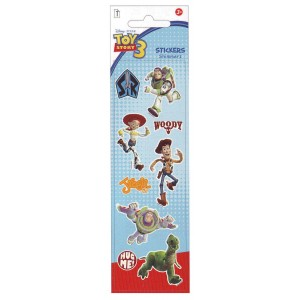 STICKERS - TOY STORY 3 - SHIMMERZ