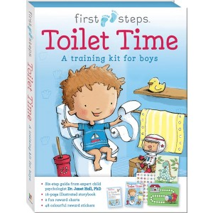 READY TO GO TOILET TIME TRAING KIT FOR BOY
