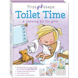 READY TO GO TOILET TIME TRAING KIT FOR GIRL