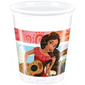ELENA OF AVALOR PLASTIC CUPS 200ML 8CT