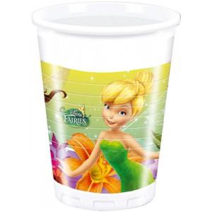 FAIRIES MAGIC PLASTIC CUPS 200ML 8CT