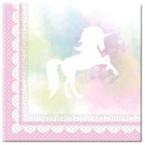 BELIEVE IN UNICORN-TWO-PLY PPR NPKN 33X33CM 20CT