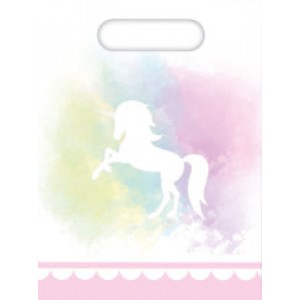 BELIEVE IN UNICORN-PARTY BAGS 6CT