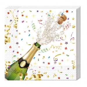 SPRKLNG CELEBRATION THREE PLY 33X33CM 20CT