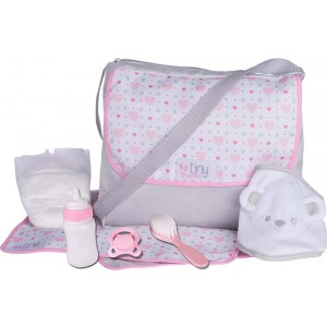 TINY TREASURES BABY CHANGING SET