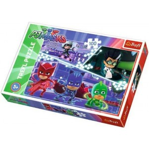 TREFL-100 PC PUZZLE PJ MASKS IN ACTION