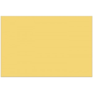 PLASTIC TABLECOVER 120X180CM BUTTER YELLOW 1CT